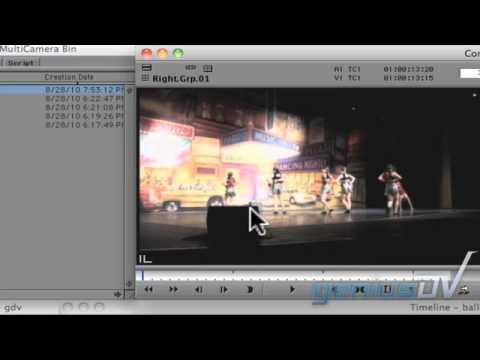 Multi Camera mode in Avid Media Composer
