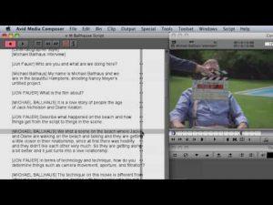 ScriptSync® for Documentaries – Avid® Media Composer® tutorials