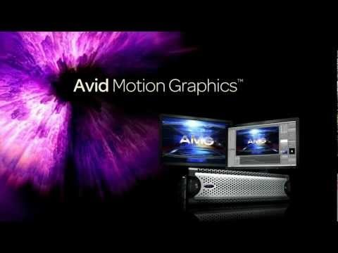 Introducing:  Avid Motion Graphics™ 2012