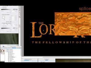 Avid Marquee: Re-creating the Lord of the Rings Logo PART 2 of 2