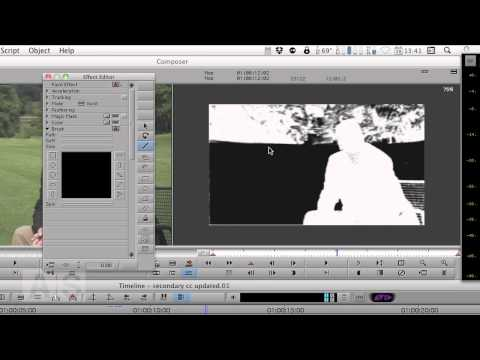 #40: Secondary Color Correction with Garbage Matte in Media Composer