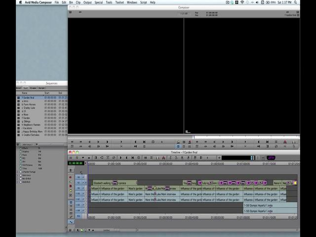 Mapping Your Editing Workspaces in Avid Media Composer