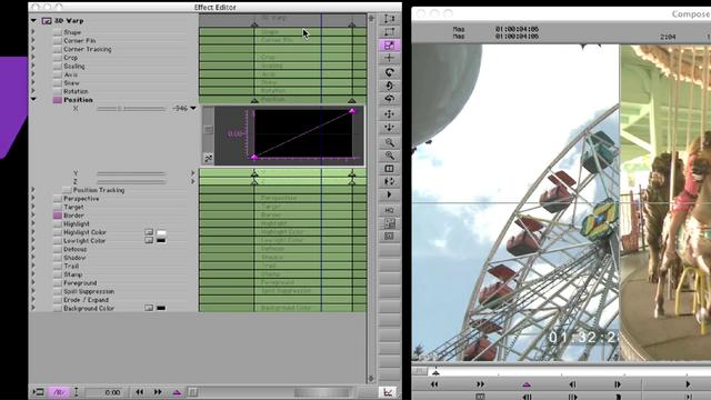 Effect Editor Changes in Media Composer 5.5.2