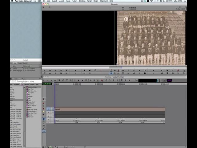 "Video Tutorial: Creating a Traveling Highlight ""Ken Burns style"" in Avid Media Composer"