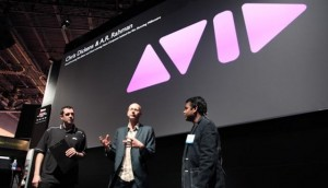 NAB 2009 – Chris Dickens and A.R. Rahman of Slumdog Millionaire