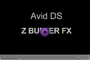 Avid DS Z Buffer FX