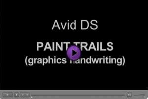 Avid DS Paint Trails (Handwriting)