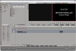 Avid DS Motion Parallax (3D)