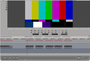 Avid DS Color Bars and Head Format
