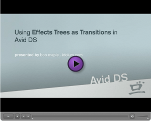Effects Trees as Transitions
