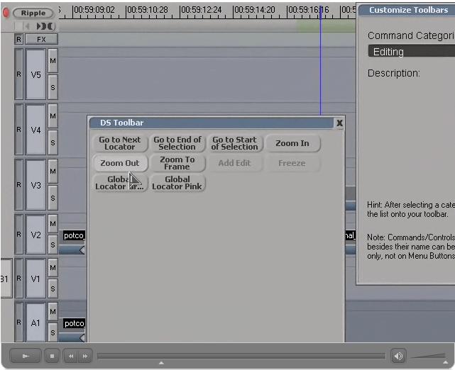 Organizing Toolbars
