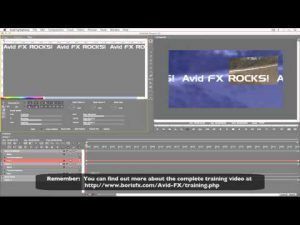 Introduction to Text Manipulation in Avid FX