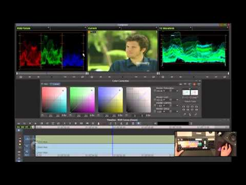 Media Composer v6 Color Correction: Curves