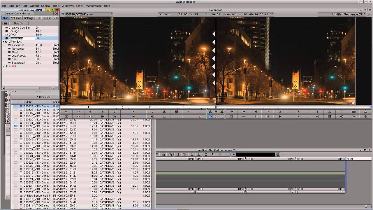 Learn Media Composer Lesson 77: The 24 Commercial Bumper