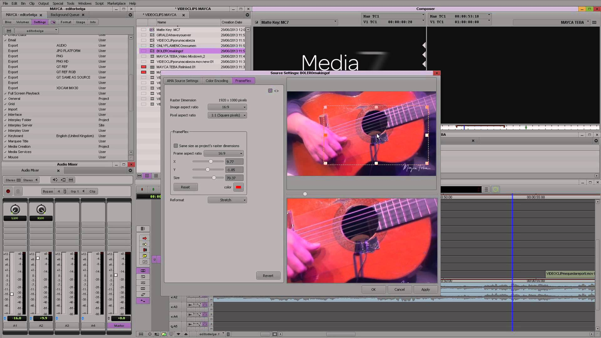 Top 10 Changes to Media Composer 7: Background Trancode/Consolidate
