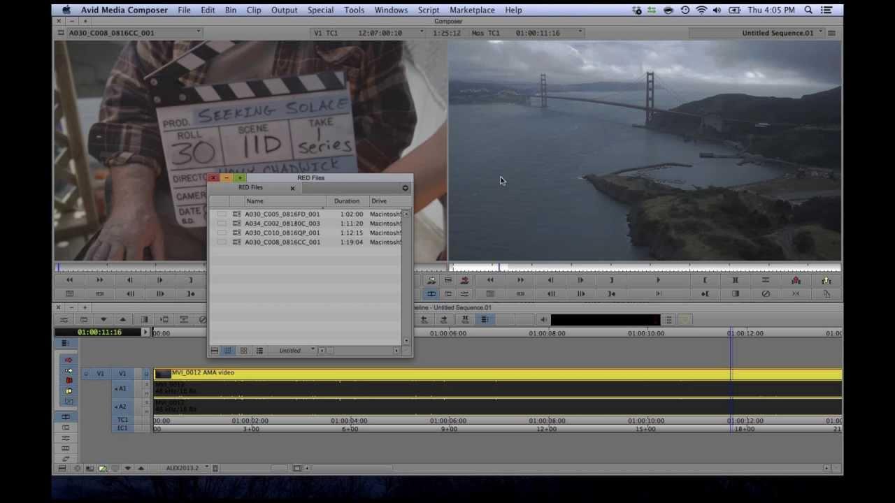 Avid Media Composer/Symphony 7 in 4 minutes