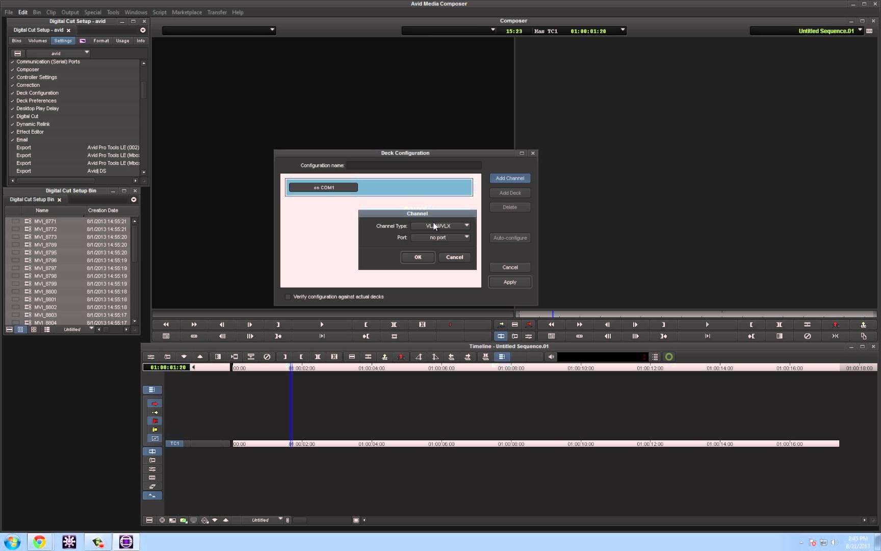 Survival Guide ‒ Media Composer® Deck Configuration ‒ Avid®