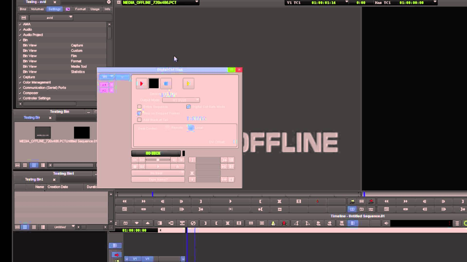 Survival Guide ‒ Media Composer® Setting up the Digital Cut (Software) ‒ Avid®