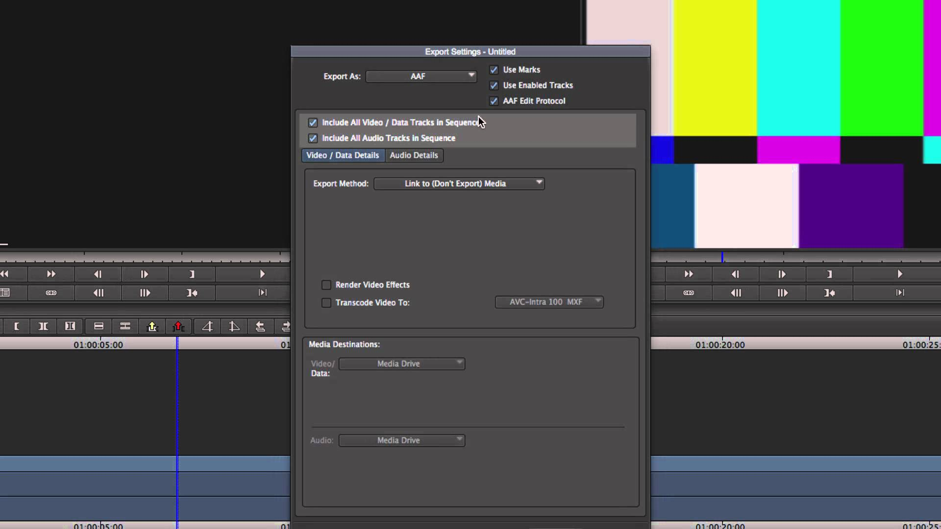 Survival Guide ‒ Media Composer® Exporting AAF for Avid Support ‒ Avid®