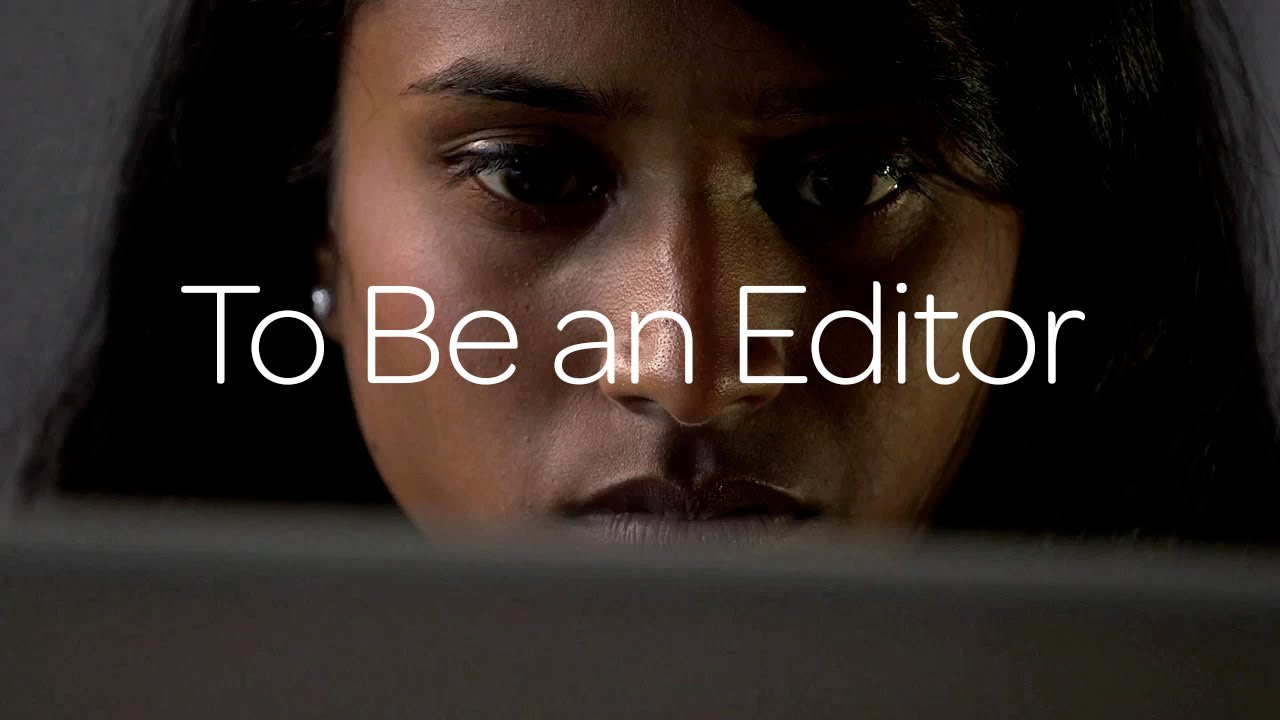 To Be An Editor ‒ Avid®