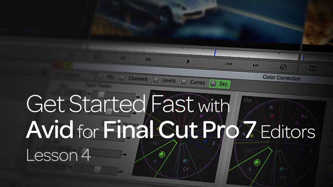 Get Started Fast with Avid for Final Cut Pro 7 Editors: Lesson 4