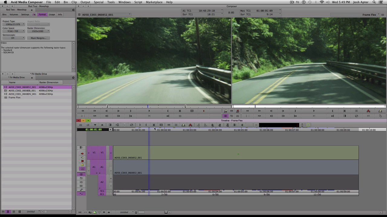 Frame Flex in Avid Media Composer 7 (Manhattan Edit Workshop Training Series)