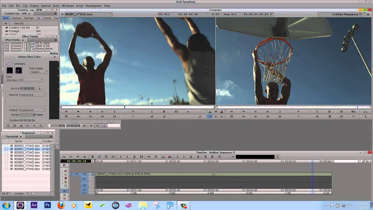 Learn Media Composer Lesson 64: Motion Effects PART TWO