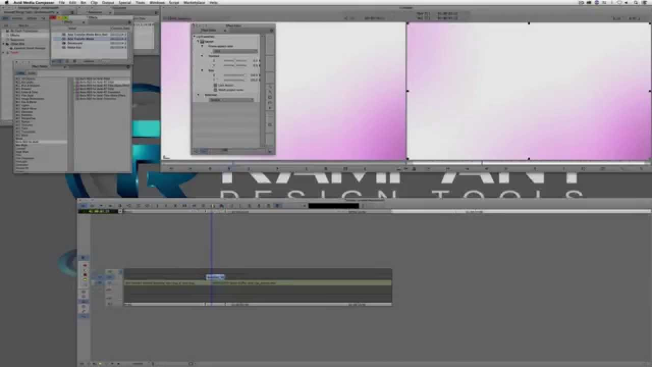 Use Flash Transitions to Stylize Your Edit in Avid Media Composer