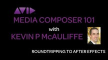 Media Composer 101 – Advanced – Roundtripping to After Effects