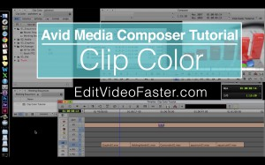EVF Tutorial – Clip Color in Avid Media Composer