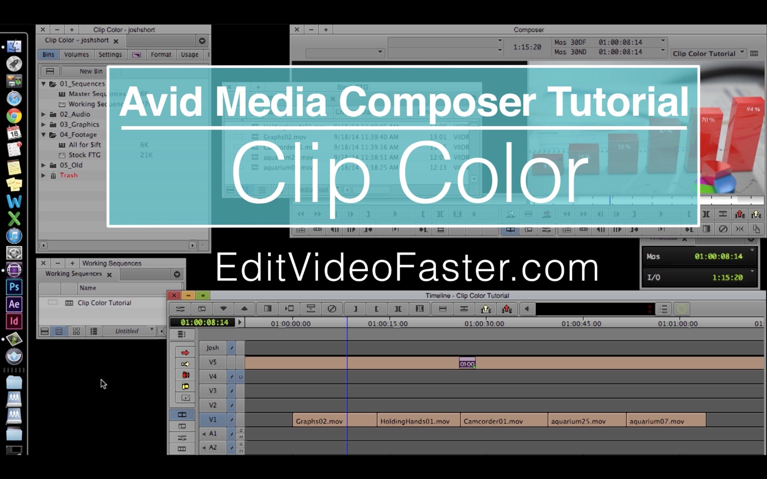 EVF Tutorial – Clip Color in Avid Media Composer