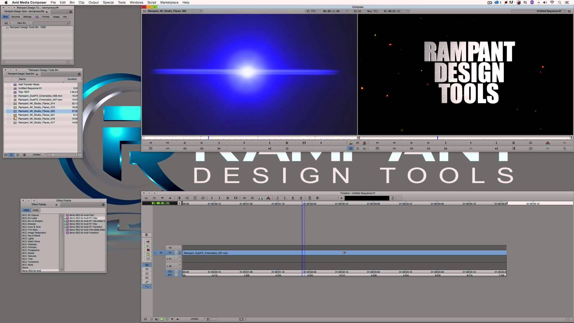 Use Real Lens Flares to Stylize Your Edit in Avid Media Composer