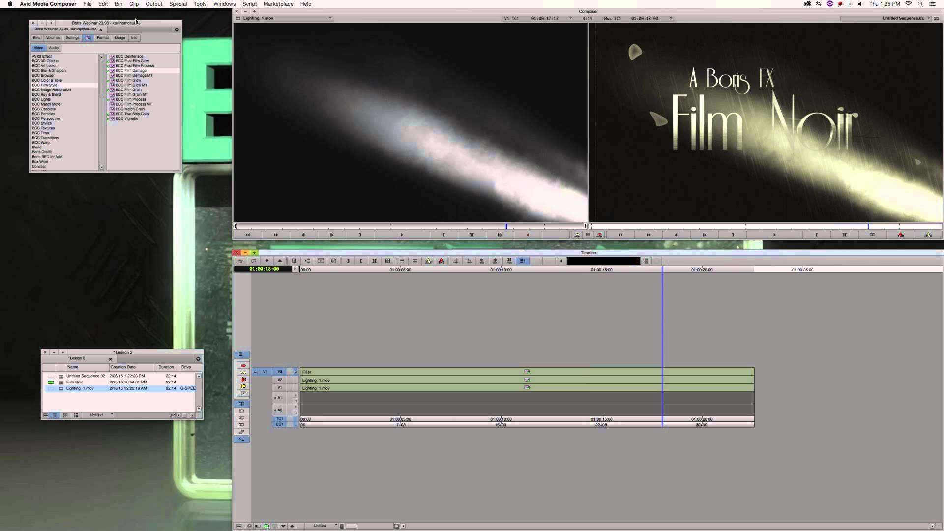 Webinar Replay: Advanced Finishing Techniques in Media Composer HD