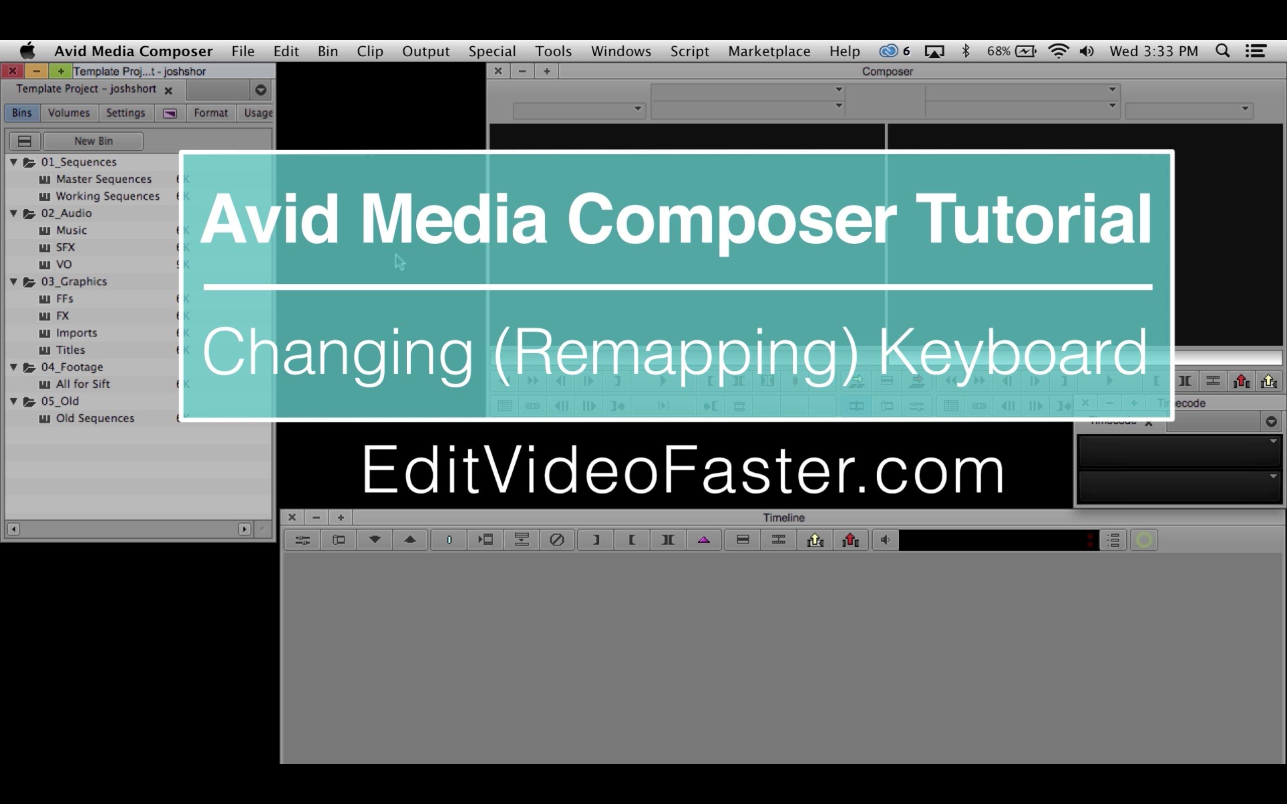 EVF Tutorial – Markers in Avid Media Composer