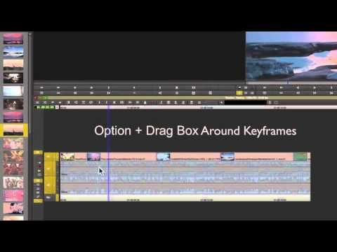 How to Make Audio Keyframes in Avid Media Composer