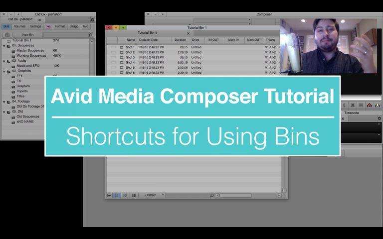 EVF Tutorial – Bin Shortcuts in Avid Media Composer