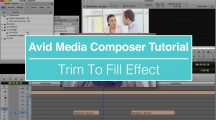EVF Tutorial – Trim To Fill Effect in Avid Media Composer