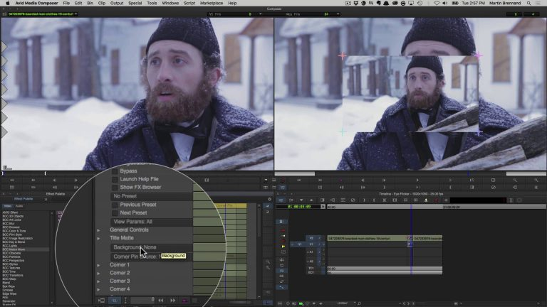 Performance Replacement with BCC 10 and Avid Media Composer
