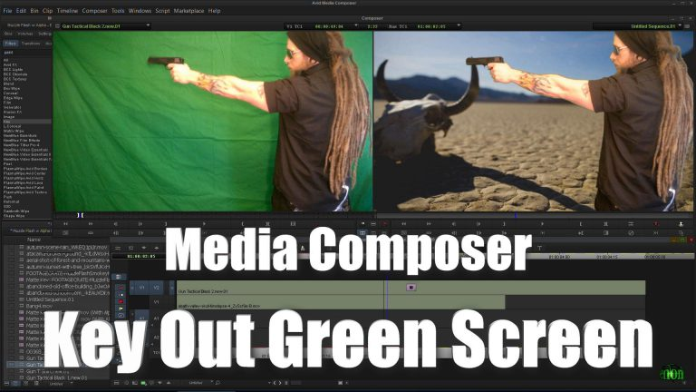 Media Composer – Key Out A Green Screen