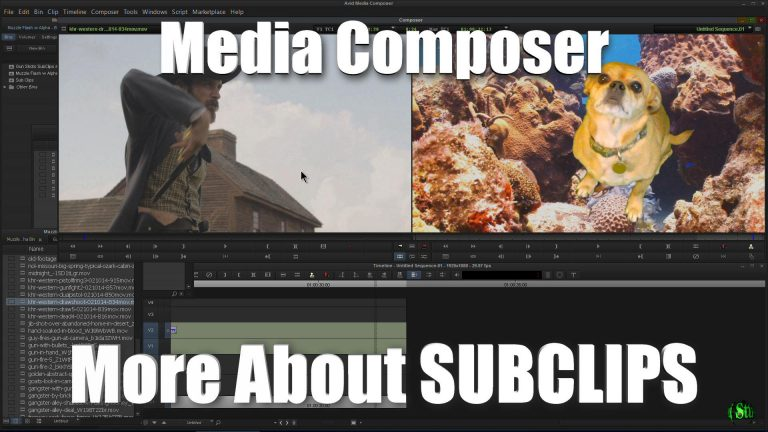 Media Composer – More About Subclips