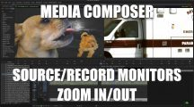 Media Composer – Source/Record Monitor ZOOM