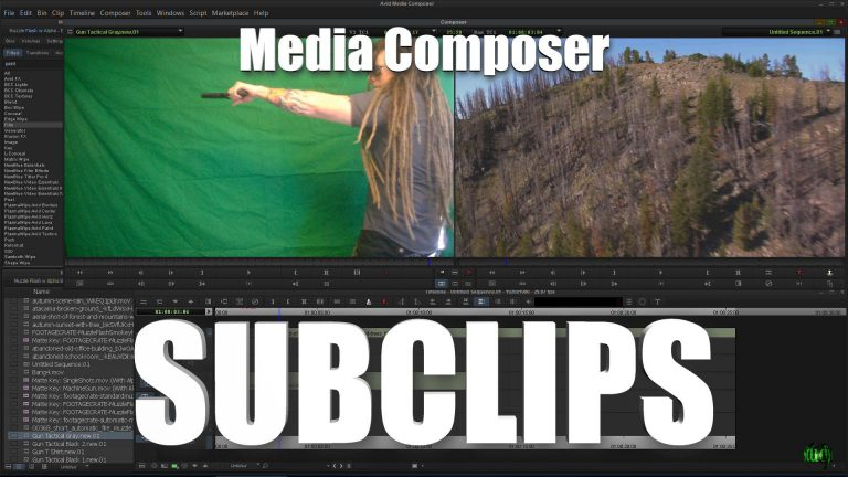 Media Composer – Subclips