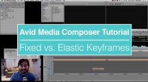 Fixed vs. Elastic Keyframes in Avid Media Composer – EVF Tutorial