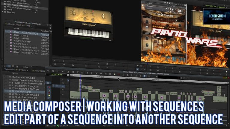 Media Composer | Edit PART of a sequence into another sequence
