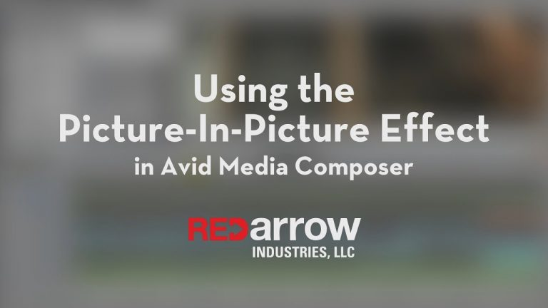 Using the Picture In Picture Effect in Avid Media Composer