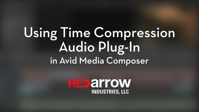 Using Time Compression Audio Plug-in in Avid Media Composer