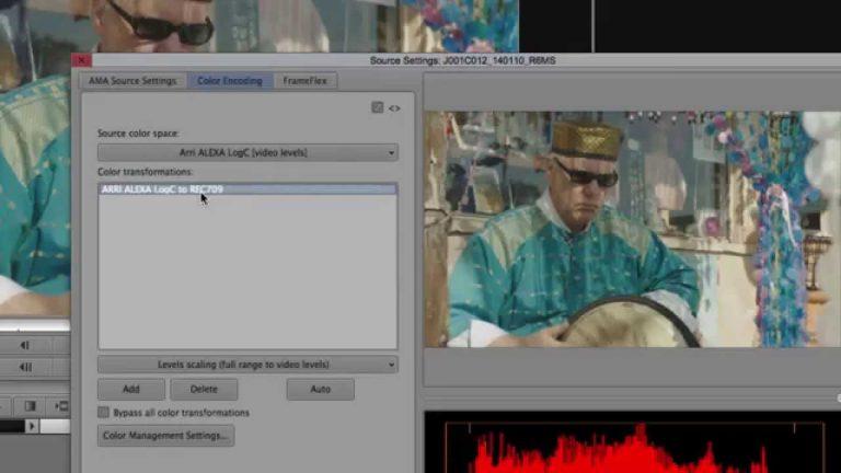 Tech Talk: Viewing ALEXA Log C files in Media Composer 8.1
