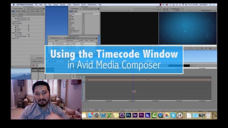 Using the Timecode Window in Avid Media Composer — EVF Tutorial