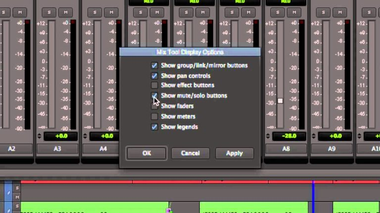 The New Customizable Avid MC7 Mixer