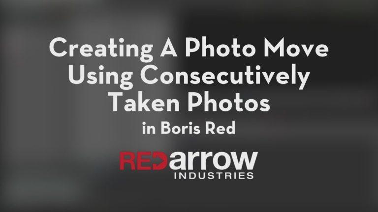 Creating A Photo Move Using Consecutively Taken Photos Inside Boris Red in Avid Media Composer
